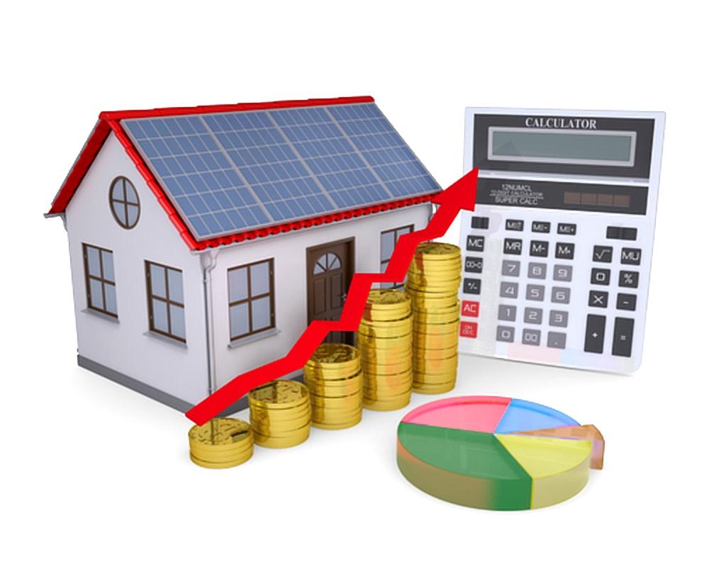 Besparen op lening voor zonnepanelen