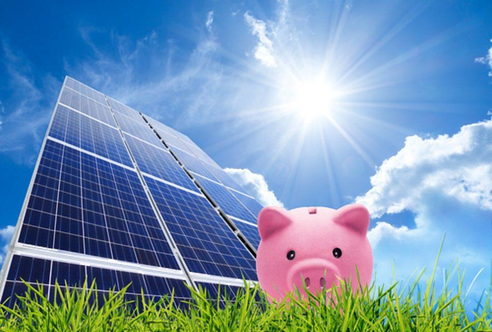 Geld lenen voor de aanschaf van zonnepanelen