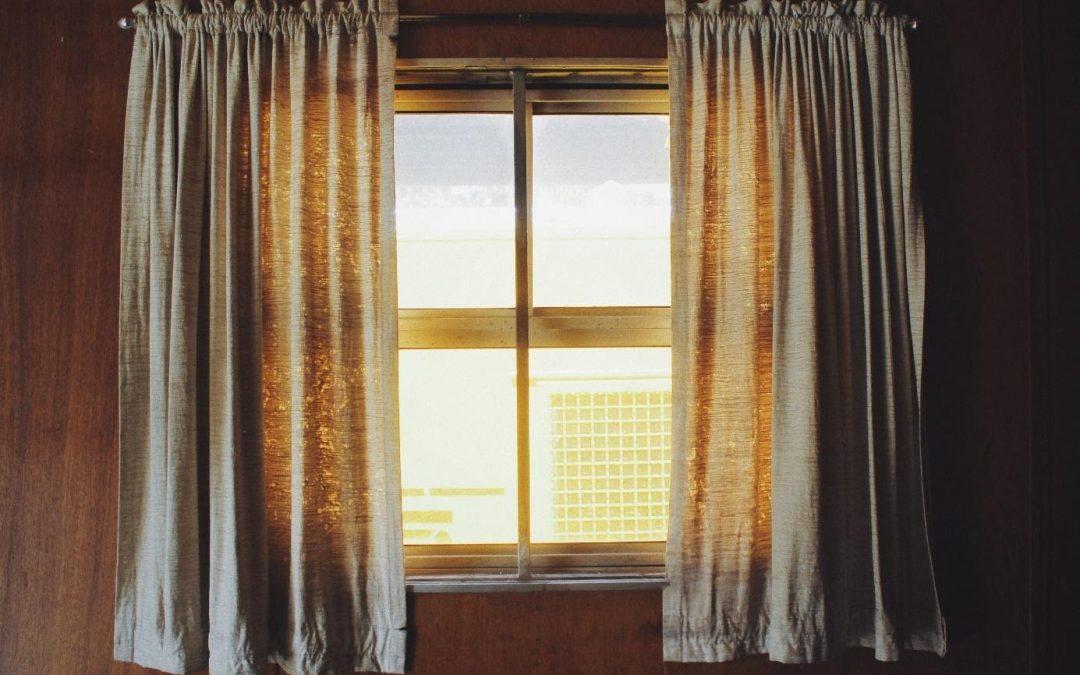 Neem de tijd voor het veranderen van je raamdecoratie